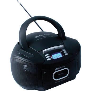 AmpliVox Sound Systems SL1010 Portable CD/Radio/Cassette/MP3 Boombox