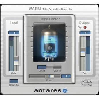 Antares Audio Technologies WARM - Tube Saturation Generator