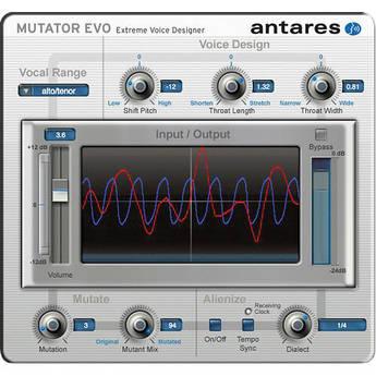 Antares Audio Technologies MUTATOR Evo - Extreme Voice Designer Plug-In