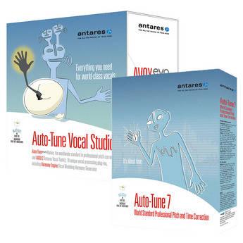Antares Audio Technologies Auto-Tune 7 Vocal Studio - Audio Processing Software Bundle (Native)