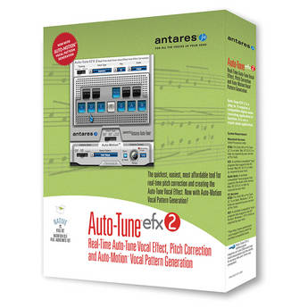 Antares Audio Technologies Auto Tune EFX 2 - Vocal Effect and Pitch Correction Plug-In