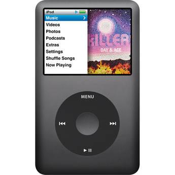 Apple 160GB iPod classic (Black, 7th Generation)