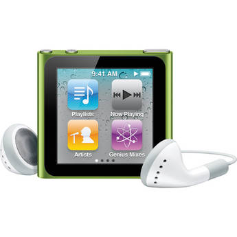Apple 8GB iPod nano (Green) (6th Generation)