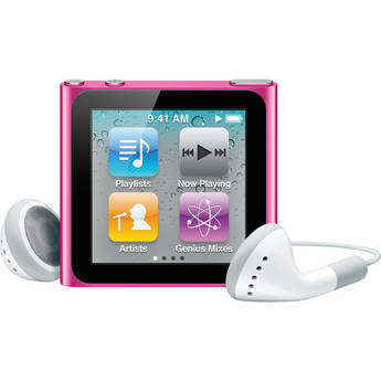 Apple 16GB iPod nano (Pink) (6th Generation)