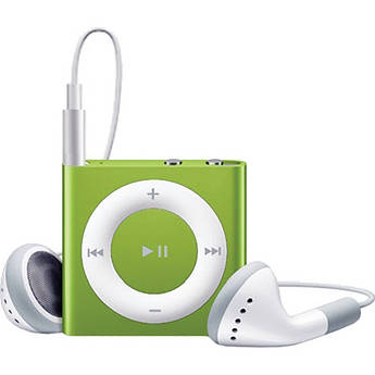 Apple 2GB iPod shuffle (Green, 4th Generation)