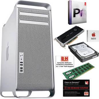 B&H Photo Mac Pro Workstation Mac Pro/Adobe Premiere Pro CS5.5 Turnkey Editing System