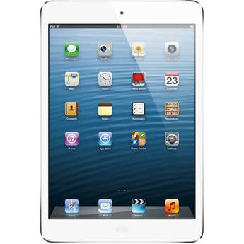 Apple 32GB iPad mini with Wi-Fi and 4G LTE (AT&T, White & Silver)