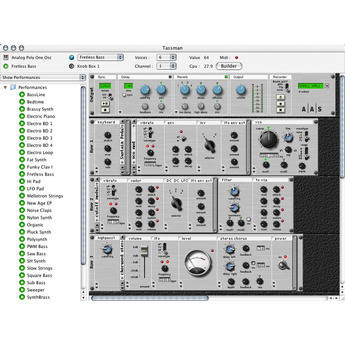 Applied Acoustics Systems Tassman 4.0 - Sound Synthesizer Studio