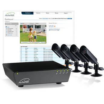 Archerfish Archerfish Quattro Intelligent H.264 Video Monitoring & Recording System (Ivory)