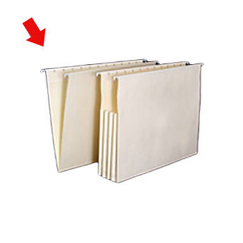 Archival Methods 26-250 Hanging File Folder (Legal Size 25 Pack)