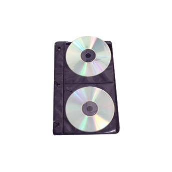 Archival Methods Two Pocket CD Pages (Pack of 50)