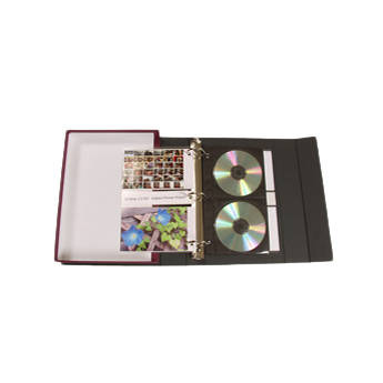 "Archival Methods S-series Accent Binder Box Kit with 4x6"" Print Pages"