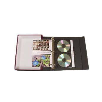 Archival Methods S-series Accent Binder Box Kit with CD Pages