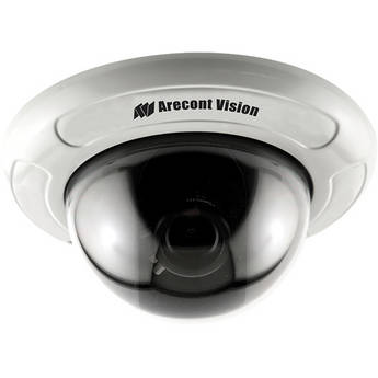 """Arecont Vision D4F-AV5115DN-3312 4"""" In-Ceiling Mount Dome Camera (3.3 to 12mm Lens)"""