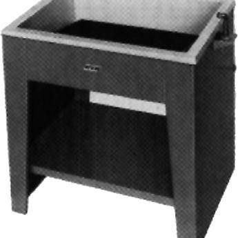 "Arkay Dual Purpose Fiberglass Sink for Rack Cleaning  26x18"""