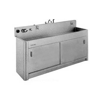"""Arkay Premium Stainless Steel Photo Processing Sink Series S (36x72x6"""")"""