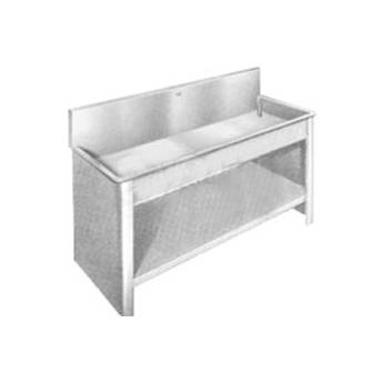 "Arkay Stainless Steel Stand for Premium and Standard Sinks (30 x 84 x 6"")"