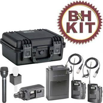 Audio-Technica ATW-1821D Deluxe Kit