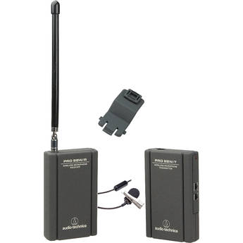 Audio-Technica PRO 88W-829 Camera Mountable VHF Lavalier Pro 88W VHF Wireless System