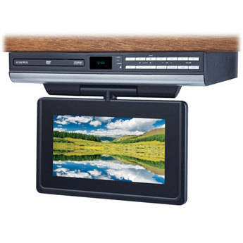 "Audiovox VE927 9"" Drop Down LCD TV / DVD Player"