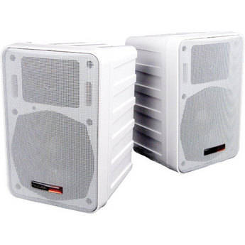 Audix PH5-vs - Lightweight Active Monitor Speakers - Pair (White)