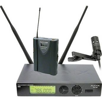 Audix RAD360 Wireless Bodypack Lavalier Microphone System