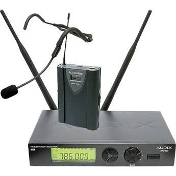 Audix RAD360 Wireless Bodypack Headworn Microphone System