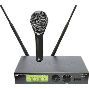 Audix RAD360 Handheld Wireless Microphone System