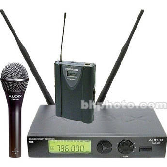 Audix RAD360 Combo Wireless Microphone System (Channel B / 638MHz - 662MHz)