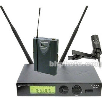 Audix RAD360 Lavalier Wireless Microphone System (Channel B / 638MHz - 662MHz)