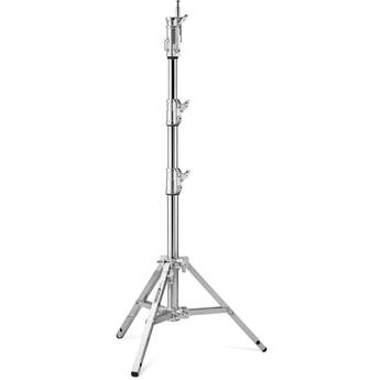Avenger Combo Alu Stand 20 with Leveling Leg (Chrome-plated, 6.5')