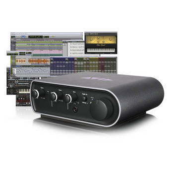 Avid Mbox 3 Mini Compact Personal Recording Studio