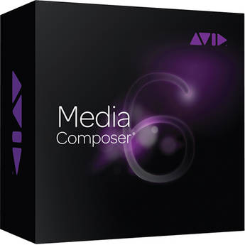 Avid Media Composer 6.0 (Software License for Mac & PC)