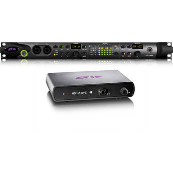 Avid Pro Tools HD Native Thunderbolt Interface and HD OMNI Interface Bundle