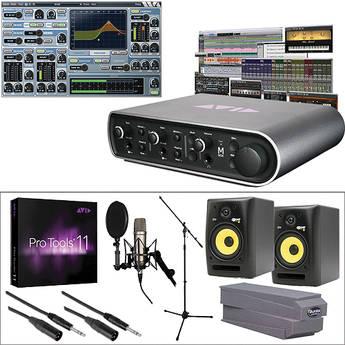 Avid Mbox Vocal Studio + Pro Tools 11 + Studio Monitors