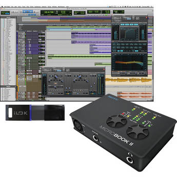 Avid Pro Tools 10 and MOTU MicroBook II Interface Package