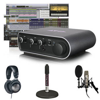 Avid Pro Tools 9 + Mbox Mini Vocal Studio Bundle (Headphones)