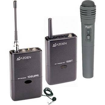 Azden 105ULH - 105 Series UHF Wireless Microphone Combo System