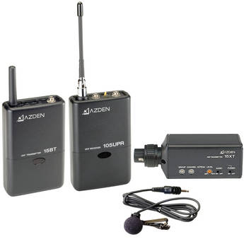 Azden 105ULX - 105 Series UHF Wireless Microphone Combo System