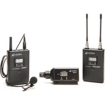 Azden 310LX UHF On-Camera Bodypack & Plug-In System