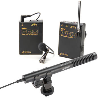 Azden WHD-Pro Portable VHF Wireless System with SMX-10 Microphone