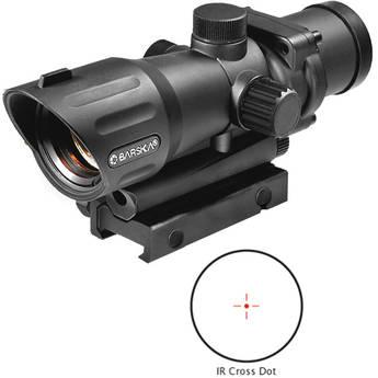 Barska 1x30 M-16 Electro Sight Riflescope (Black Matte)