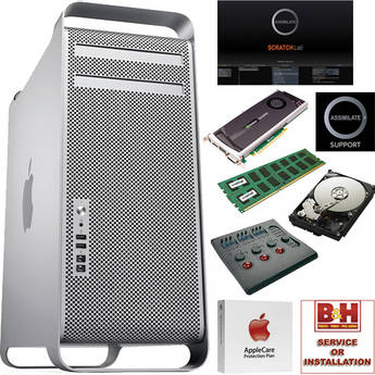 B&H Photo Mac Pro Workstation 6-Core with SCRATCH / Wave / Quadro / Support and More