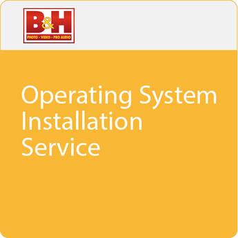 B&H Photo Video Operating System Installation Service