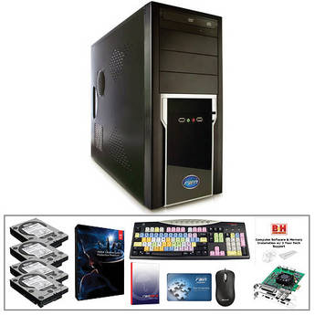 B&H Photo PC Pro Workstation Turnkey System with a Rain Computers Stratus and Production Premium CS6