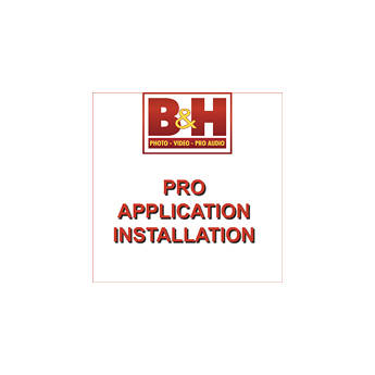 B&H Photo Video Pro Application Installation