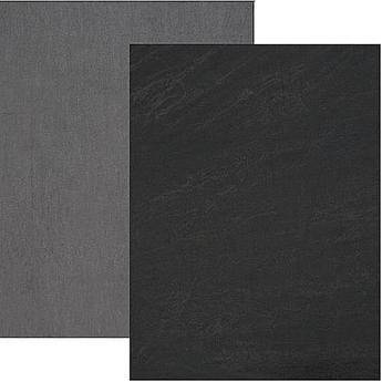 Backdrop Alley Reversible Muslin Backdrop (10 x 24', Charcoal Gray/Lighter Gray)