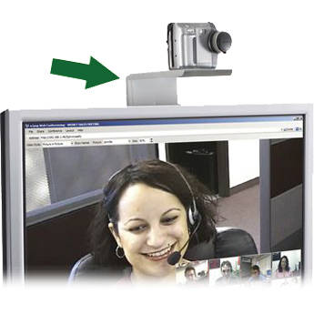 Balt 66588 Video Conferencing Shelf for Flat Panel TV Stand