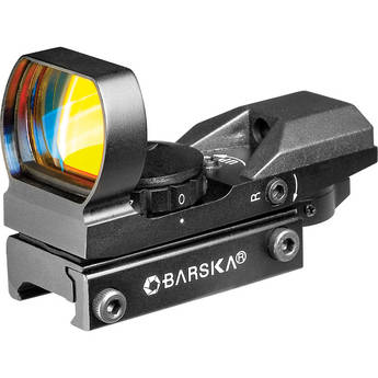Barska AC11704 Multi-Reticle Green and Red Electro Sight