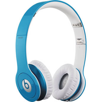 Beats by Dr. Dre Solo HD - On-Ear Headphones (Smart Blue) with Mic/Remote Control on Cable